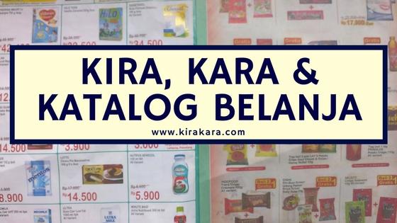Kira, Kara Dan Katalog Belanja