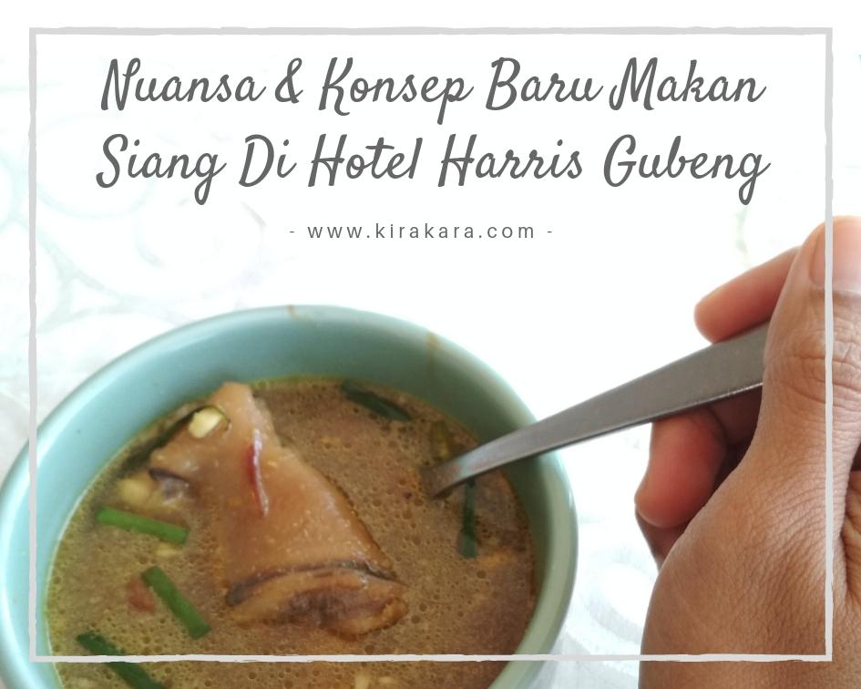 Nuansa dan Konsep Baru Makan Siang Di Hotel Harris Gubeng