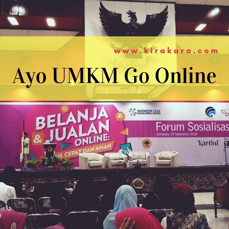 Ayo UMKM Jualan Online!