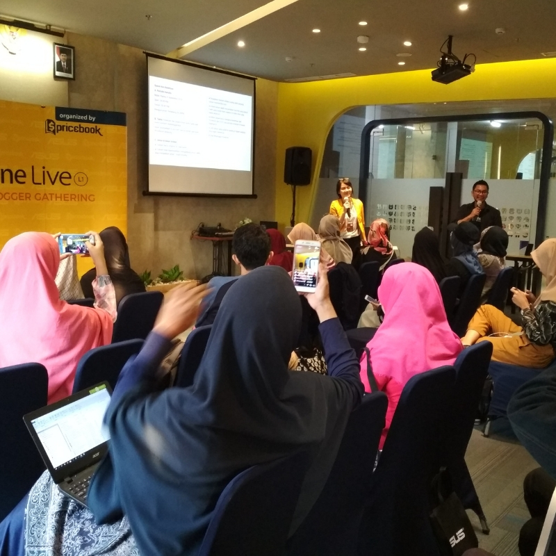 Rumah Tangga Waras dengan Zenfone Max Pro L1 dan Zenfone Live L1