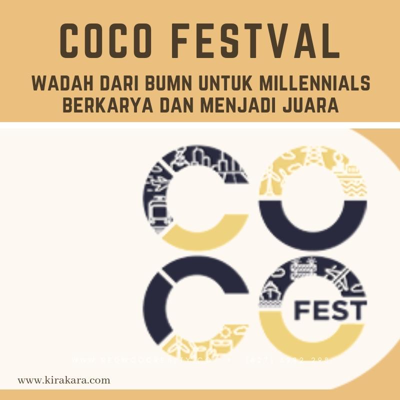 COCO Festival, Wadah Dari BUMN Untuk Millennials Berkarya Dan Menjadi Juara