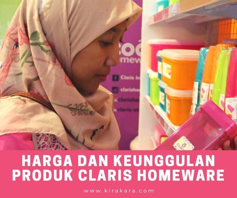 Harga dan Keunggulan Produk Claris Homeware