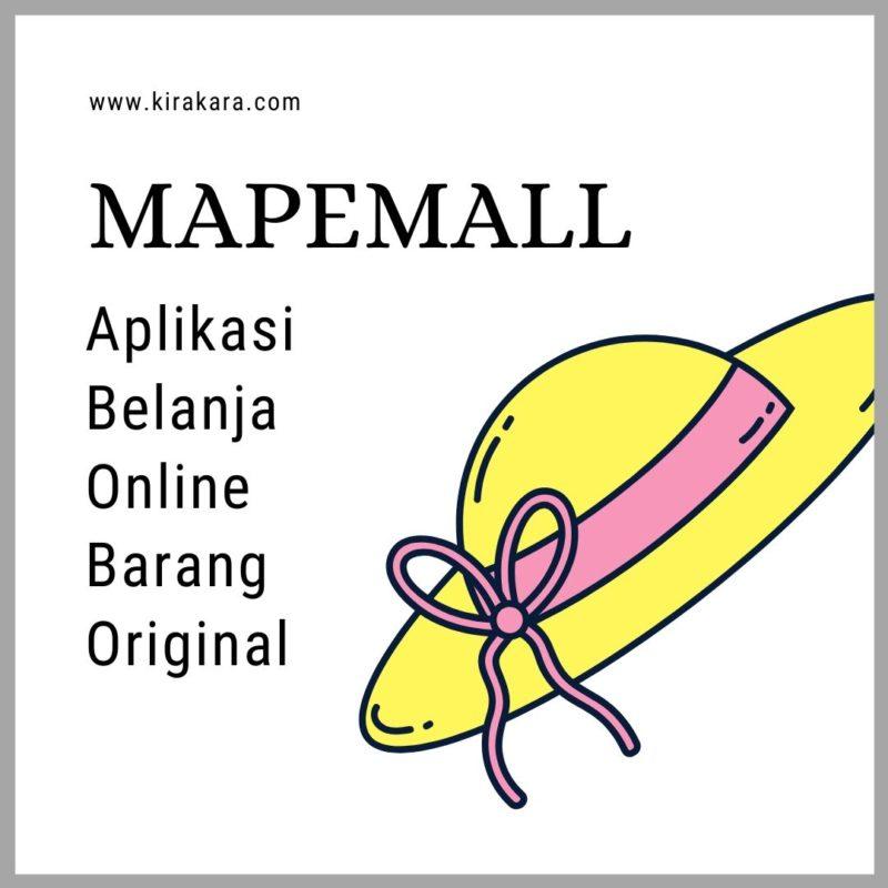 Mapemall, Aplikasi Belanja Online Barang Original
